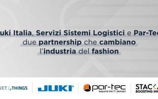 Juki Italia Servizi Sistemi Logistici e Par-Tec due partnership che cambiano l'industria del fashion