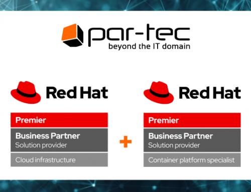 Par-Tec diventa Red Hat Container Platform Specialist