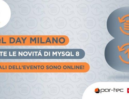 Da MySQL 5.7 a MySQL 8.0 (Milano)