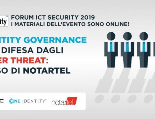 L'Identity Governance come difesa dagli insider threat: il caso di Notartel