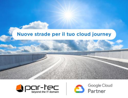 Par-Tec diventa Google Cloud Partner